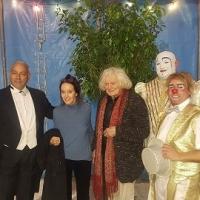 Al Circo Lidia Togni ospiti d'onore  Victoria Chaplin e il coniuge Jean-Baptiste Thierrèe