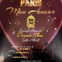 PARIS MON AMOUR  Il grande ritorno del Dinner Show al Teatro Alberti (Desenzano d/G)