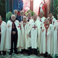 Napoli: Presso le Suore Bigie Elisabettine a Capodimonte incontro conviviale e di beneficenza dei Cavalieri Templari. (Scritto da Antonio Castaldo)