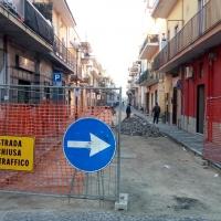 Mariglianella: Riprendono i lavori di riqualificazione con pavimentazione stradale delle vie che si incrociano su Piazza Vittorio Veneto.