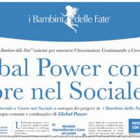 """Global Power con """"I Bambini delle Fate"""" per"""