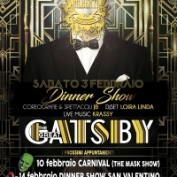 The great Gatsby  Dinner Show al Teatro alberti Desenzano
