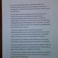 Spinelli IDD si schiera al fianco dei lavoratori Lazio ambiente contro l'azienda e la regione Lazio
