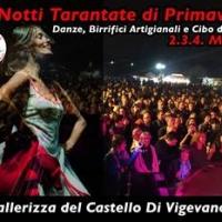 Da VENERDI' 2 A DOMENICA 4 MARZO, @ Cavallerizza del Castello di Vigevano (PV), LE NOTTI TARANTATE DI PRIMAVERA