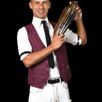 Il Bartender Bruno Vanzan a RistorExpo con Ristopiù Lombardia