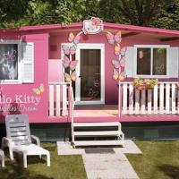 I 10 migliori Campeggi e Villaggi con Sistemazioni Originali 2018: vince I Pini Family Park di Fiano Romano con le case di Hello Kitty