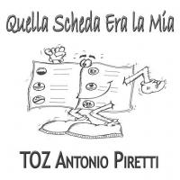 """TOZ ANTONIO PIRETTI  """"QUELLA SCHEDA ERA LA MIA""""   È IL BRANO ANTI-ASTENSIONISMO DEL CANTAUTORE ITALO-CANADESE"""