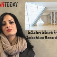 Il nuovo Sumida Hokusai Museum ospita i calchi dell'artista italiana Desirèe Prada