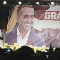 Pomigliano D'Arco Luigi Di Maio ringrazia gli italiani che hanno votato M5S. Il Movimento a Brusciano ringrazia gli elettori locali.  (Scritto da Antonio Castaldo)