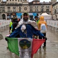 L'ultra Maratoneta Simone Leo alla Brescia Art Marathon