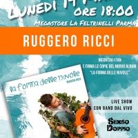 Ruggero Ricci live alla  Feltrinelli,  di Parma – 19 marzo 2018