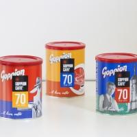 EDIZIONE LIMITATA DI GOPPION CAFFÈ: 70 ANNI IN TRE LATTE D'AUTORE