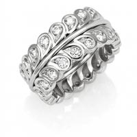 La goccia d'acqua è vita. L'anello in oro e diamanti di Segreti di Mu celebra la Giornata Mondiale dell'Acqua.