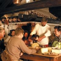 A tavola con la fata delle Dolomiti