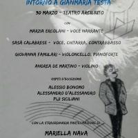 """""""L'uomo che sorveglia il cielo"""" (Intorno a Gianmaria Testa) – Roma, Teatro Arciliuto (venerdì 30 marzo)"""