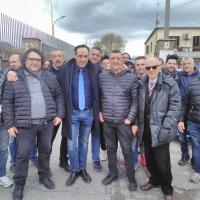 IDD con De Pierro va a sit-in lavoratori Onorati  e ottiene pagamento stipendi
