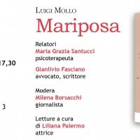 Mariposa, il profondo viaggio di Luigi Mollo in un libro edito da Turisa e presentato il 5 aprile a Napoli