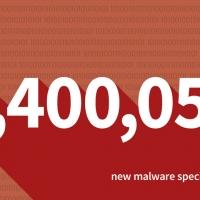 Record drammatico negativo: circa 8,4 milioni di nuovi malware identificati nel 2017