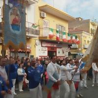 Brusciano: I Battenti della Madonna dell'Arco nel Lunedì dell'Angelo. (Scritto da Antonio Castaldo)