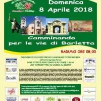 Camminando con Ruggiero Graniero per le vie di Barletta 3^ edizione 8-4-2018