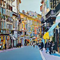 """Dal 7 aprile al 21 Aprile 2018 Libreria Edizioni Cardano a Pavia presenta la mostra personale dell' artista napoletano """"Giovanni Manzo e l'Impressionismo contemporaneo"""""""