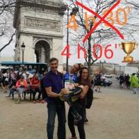 Federica Sicignano, Maratona di Parigi 8 Aprile: Pronta e carica come una molla