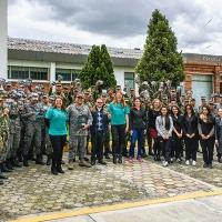 """L'Aeronautica Militare della Colombia aderisce al programma """"La verità sulla droga"""""""