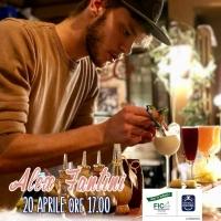 """La Mortadella Bologna IGP """"diventa"""" un cocktail con il bartender Alex Fantini venerdì 20 aprile, alla Fabbrica di Mortadella Bologna IGP a Fico"""