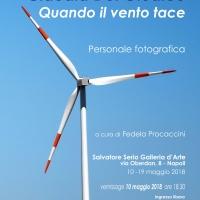Quando il vento tace - Personale fotografica di Claudia Del Giudice c/o Salvatore Serio galleria d'arte,Napoli