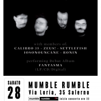 ARTO (members from CALIBRO 35, ZEUS, IOSONOUNCANE, RONIN) live al Mumble Rumble di Salerno