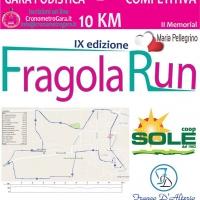 Puntuale anche quest'anno  la Fragola Run, ambita gara podistica, giunta alla  9ₐ edizione a Parete