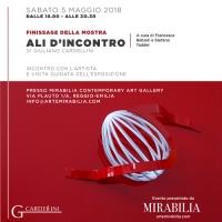 Ali d'incontro- Finissage della mostra di Giuliano Cardellini