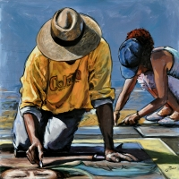 Oscar Piovosi, Ground – I madonnari