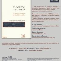 Michele Mezza presenta ALGORITMI DI LIBERTÀ al Teatro Arciliuto di Roma