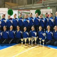 Sul podio d'Italia il Twirling Santa Cristina. Campionesse Italiane con il Team Senior e Vice Campionesse con il Team Junior!