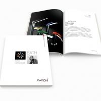 Techno Catalogue di Gattoni Rubinetteria. La guida per l'ambiente bagno colorato