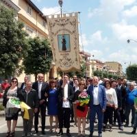Brusciano Questua del Giglio della Gioventù per la 143esima Festa dei Gigli in Onore di Sant'Antonio di Padova. (Scritto da Antonio Castaldo)