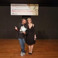 Luca Mele e Gigi Miseferi ospiti alla cerimonia di premiazione del concorso