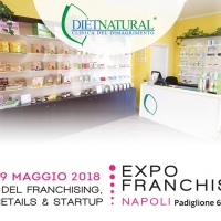 DIÈTNATURAL ALL'EXPO FRANCHISING NAPOLI 2018