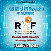 Al via la sesta edizione del Roma Web fest