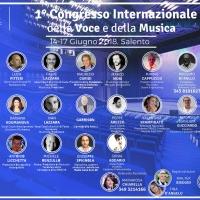 """""""1° Congresso della Voce e della Musica """", 14-17 Giugno 2018 - Salento"""