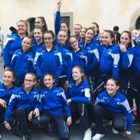 Twirling Santa Cristina alla Finale Nazionale Serie B e C. Campione Italiano il Gruppo Junior C e Bronzo alla solista Martina Zonca.