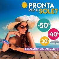 Da Pinalli è cominciata l'estate: i migliori prodotti solari in offerta speciale fino a Settembre e acquistabili sia online che in store