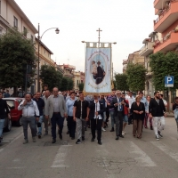 Brusciano Questua del Giglio Croce Passo Veloce per la 143esima Festa dei Gigli in Onore di Sant'Antonio di Padova. (Scritto da Antonio Castaldo)