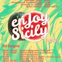 EnJoy Sicily... venerdì 22 e sabato 23 giugno, al Joy di Milano, due giorni interi dedicati alla Sicilia...