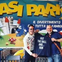 Con Steven B. all'Oasi Park di Roma
