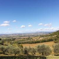 Perugia Vecchia, le colline sopra Deruta