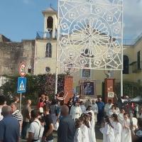 Mariglianella: Processione Madonna della Sanità per la Festa Mariana sulle Taverne promossa dall'omonima associazione e dalle Suore Domenicane.