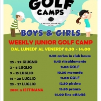 Junior golf camp - Un centro estivo all'insegna del divertimento e dello sport