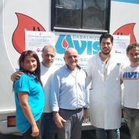 """Mariglianella Generosa risposta dei donatori di sangue alla chiamata dell'Avis. A due giorni dal """"World Blood Donor Day"""" celebrato dall'Organizzazione Mondiale della Sanità OMS."""